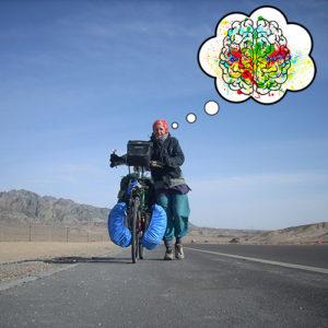 Balader son cerveau à bicyclette
